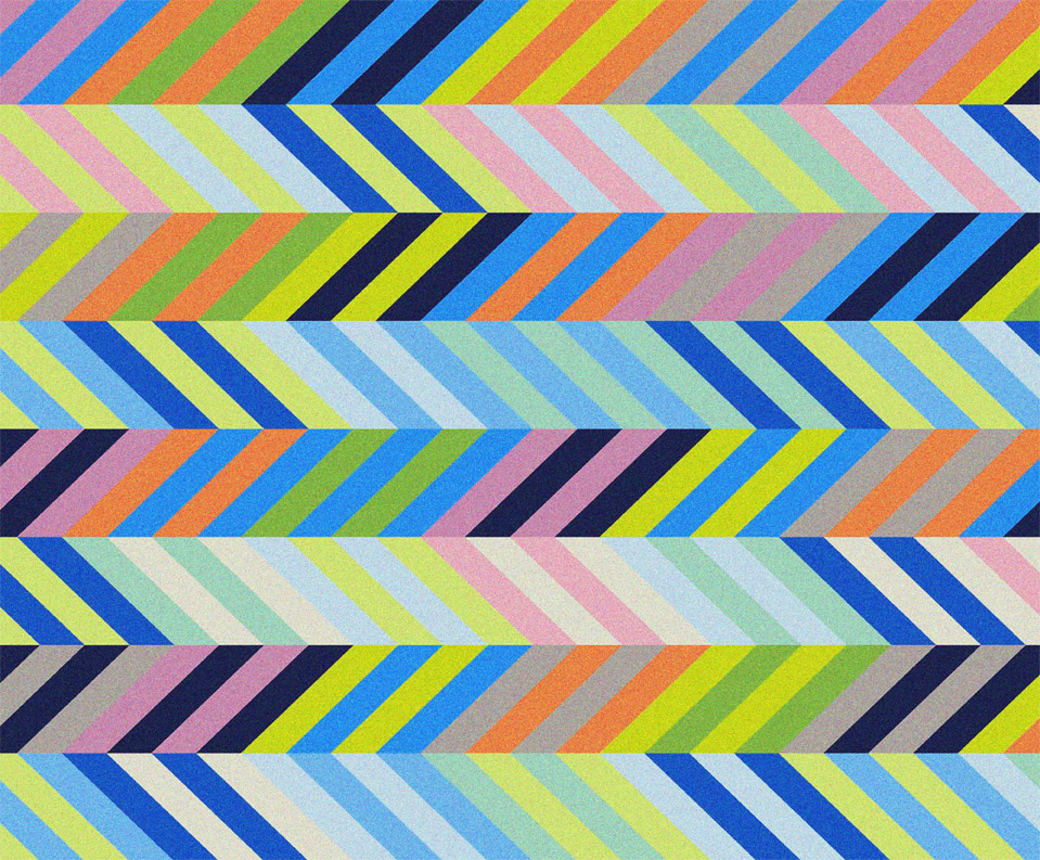 Chevrons I - print on paper